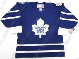 bacde85dd Cheap custom TORONTO MAPLE LEAFS 1995 AWAY VINTAGE CCM HOCKEY JERSEY stitch  add any number any name Mens Hockey Jersey XS-5XL cheap toronto maple leaf  ...