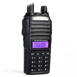 2020 baofeng uv 82 dual band Baofeng UV-82 Walkie Talkie Dual-Band 136-174 / 400-520 MHz FM Ham Radio Two Way Transceiver Walkie Talkie baofeng uv 82 dual band barato