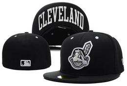 2019 cleveland basketball Guter Verkauf Online-Shopping Cleveland Indianses ausgestattet Hüte Snapback Cap Männer Frauen Basketball Hip Pop günstig cleveland basketball