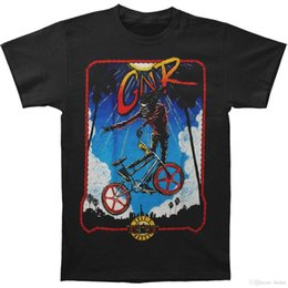 Bmx negro online-Guns N Roses Camiseta BMX para hombre XX-Large Black