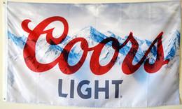 Romanzo di Coors Light Beer Flag Banner da