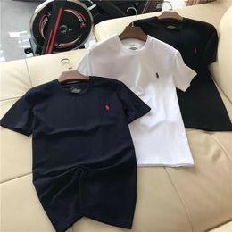 19ss Ralph Polo Lovers Cotton Tshirts Paris Lauren Camiseta de verano de manga corta Clásico chaleco transpirable Streetwear camiseta exterior desde fabricantes