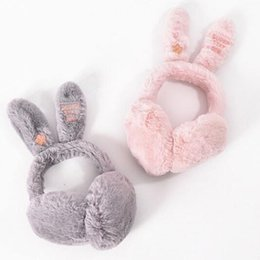 white ear muffs Coupons - Autumn and winter earmuffs ms han edition of rabbit ear ear package lovely warm earmuffs outdoor cycling warm antifreeze earmuffs