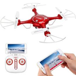 2019 rc nano quadcopter mini drone SYMA X5UW Drone com Câmera Wi-fi HD 720 P em Tempo Real de Transmissão FPV Quadcopter 2.4G 4CH RC Helicóptero Quadrocopter Com 4 GB Micro SD