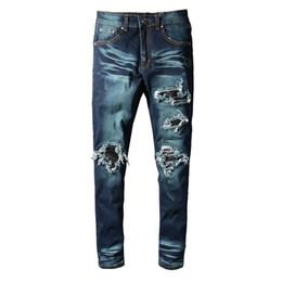 Preço da calça jeans on-line-Calças de ganga dos homens Moda denim Ferramental Novo 2019 Promoção Low price Slim fit Confortável legal em linha reta dobre verde