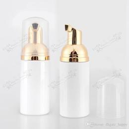 Kosmetische plastikpumpenflaschen online-Großhandel 50 ML X 30 leere weiße DIY Schaum Blase Plastikflasche, 50cc Schaumpumpe kosmetische Verpackung Flaschen container-01