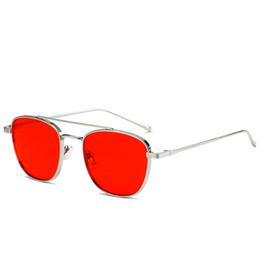 Argentina 1 unids al por mayor - Gafas de sol de diseñador de marca para hombres y mujeres de alta calidad con marco de metal uv400 lentes de película de alta definición Ocean supplier definition goggle Suministro