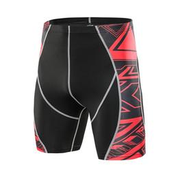 2019 leggings cortos sin costura Perimedes Man's Printed Workout pantalones cortos de yoga Leggings Fitness Deportes Running Yoga Athletic Short Leggings elásticos Seamless # y45 # 527032 leggings cortos sin costura baratos