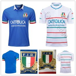 43318216b72 New Italy Rugby Jersey blue White 19 20 Man NRL National League rugby shirt  Italy Home Away jersey SUPER RUGBY League Size S-3XL