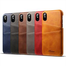 2019 parties de mûre Étui de luxe pour téléphone avec étui en cuir PU avec fentes pour cartes pour Iphone 7 8 X 6S Plus + XR XS MAX
