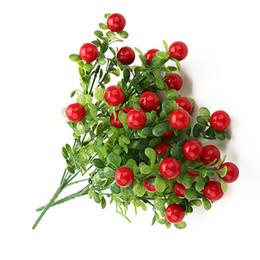 frutas falsas hortalizas decoracion Rebajas Plástico Pimiento rojo Manojo Plantas artificiales Pimientos de simulación Verduras falsas Ramillete Frutas colocadas para la decoración del jardín del hogar