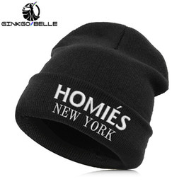 f80f6c1aeff Beanie Hat Skullie Cap Slouchy Winter Embroidery Cool Punk Men Women Teen  Street Dance Funny Hip-hop Personalized - Homies. Supplier  ginkgobelle
