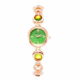 Canada Plein Diamant Étoile Visage Magique Ruban Acrylique Changement De Couleur Tendance Bracelet Femmes Montre en gros dames robe poignet montres à quartz Offre