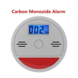 Argentina Alarma de monóxido de carbono CO Probador Sensor de advertencia Pantalla LCD Humo Gas Detectores de envenenamiento por incendio Sistema de alarmas de seguridad para el hogar Suministro