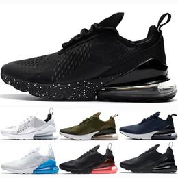 designer fashion 7cad2 f11c7 nike air max 270 shoes 2019 Noir Chaussures De Course Pour Hommes Femmes  Formateur BARELY Rose Triple Black Be true marine Photo Bleu Punch Chaud  Sports ...