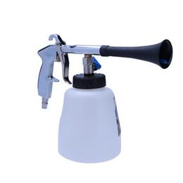 pistolas de espuma de lavado de autos Rebajas Pistola pulverizadora de alta presión portátil Tubo Pistola de limpieza Interior del coche Espuma Bomba de lavado Herramientas