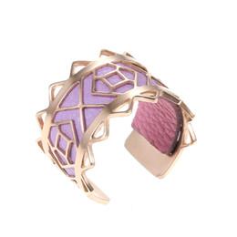 moda france Desconto Yoiumit new fashion rose anéis de ouro para as mulheres france jóias 12 cores intercambiáveis bague couro femme acier inoxydable