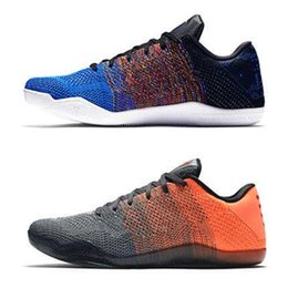 bbd534cc0a4e7c 2019 newest sale High Quality Kobe 11XI Elite Men Basketball Shoes Red  Horse Sneaker KB 11s Mens Trainers Sports Sneakers 40-46