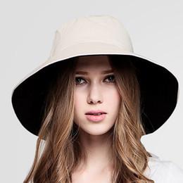 ульфа Скидка Мода женщины двусторонняя высокое качество большой Brim Sun Hat УФ-защита Fishman Golf Cap бесплатная доставка #N05