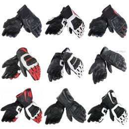 кожаные перчатки gp pro Скидка Новый 100% Натуральная Кожа 4 STROKE EVO Перчатки для Мотоциклов MotoGP M1 Racing Driving GP PRO Оригинальная Гонка Pro В Мотоциклетных Перчатках