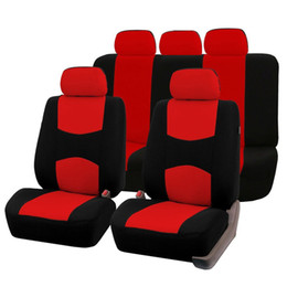 Fundas de asiento para vehículo online-2017 Universal Car Seat Covers Front Rear Luxury Cute Auto Auto Asiento Covers Vehículos Accesorios styling