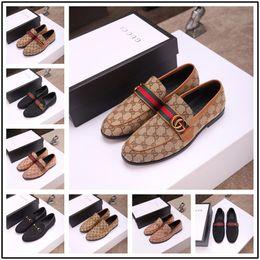 soziale schuhe männer Rabatt 19ss Männer Schuhe Formelle Kleidung Schuh Sapato Social Masculino Leder Braun Elegant Luxus Anzug Schuhe Große Größe Dropshipping Mode
