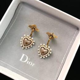 Дизайнер Ретро новый Peach Heart S925 Серебряные серьги с жемчугом женские новые индивидуальные длинные серьги модные аксессуары от