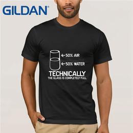 Teknik Olarak Cam Tamamen Bilim Sarcasm Olduğunu Komik Serin Mizah T-Shirt T Gömlek Sıcak Konu Erkekler Kısa Kollu Üst Tee nereden