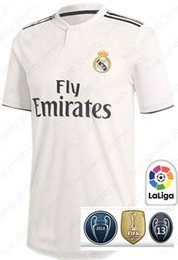 913a2de3bbf Real Madrid RONALDO  7 MBAPPE  10 soccer jerseys Top quality ISCO  22 RAMOS  RONALDO BENZEMA MODRIC football shirt WOMEN man Kids Kits discount real  madrid ...