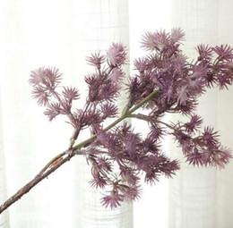 Pino albero rami di plastica Pinaster piante Caduta artificiale foglie casa Natale decorazione di nozze fiori finti ghirlanda da