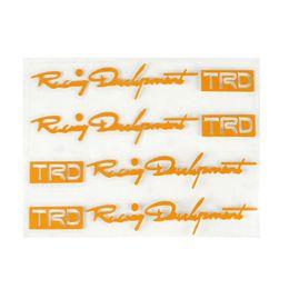 Argentina Manija de la puerta del coche TRD Pegatinas de coches reflectantes anti arañazos pegatinas ahueca hacia fuera la manija de vinilo calcomanía decorativa supplier trd decals sticker Suministro