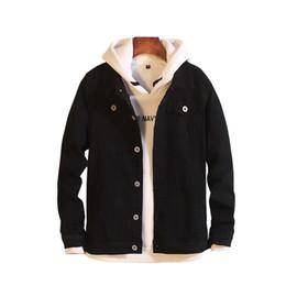 85933112546 fit choice Promo Codes - Pure color denim jacket men 6 color choice men  cotton jacket