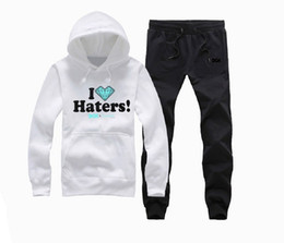 Canada S-5XL hip hop hommes assortis couple hoodies pantalons sports skateboard pullover costume hommes Color-Block vêtements Offre