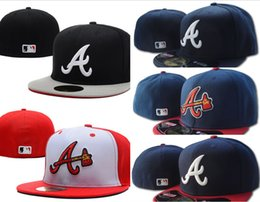 d82ce8db20ffb 2019 gorras planas Venta al por mayor Braves sombreros cabidos de los  hombres Sombrero de ala