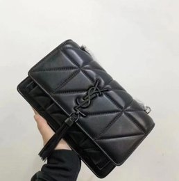 ladies small wallet Promo Codes - Best selling 2019 most popular ladies shoulder bag checkered ladies messenger bag fashion handbag wallet. Black size: 22 .16.17