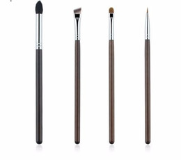 Escova de maquiagem cônica on-line-4 Peça Professional Eye Makeup Brushes Set Sombra de Olho Sobrancelha Delineador Cônico Mistura Make Up Brush Tool Kit Cn-04