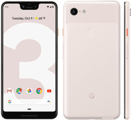 "telefone inteligente 4gb ram Desconto Original de telefone celular Google Pixel 3 XL 4G LTE 4GB RAM 64GB 128GB ROM Snapdragon 845 Octa Núcleo Android 6.3"" Full Screen NFC Smart Mobile Telefone"
