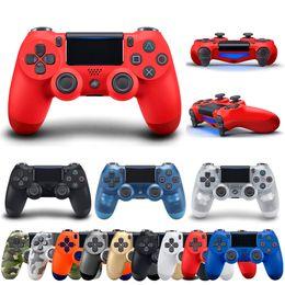 hochwertiger joystick Rabatt Hochwertiger DualShock 4 Wireless Controller für PS4 Spielekonsole Bluetooth Gamepad für PlayStation 4 Joystick mit Retail Box
