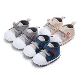 Moda para bebés, niños, niñas, zapatos de lona, zapatos para niños pequeños, tenis, para correr, informal, deportivo, antideslizante, suela suave desde fabricantes