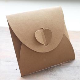 Dvd packs online-40pcs 13x13cm Disc CD-Hülle 250gsm Kraft CD DVD Papiertüte Abdeckung CD-Verpackung Umschläge Packung Hochzeitsfestbevorzugung