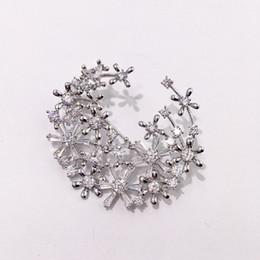 jóia broche fina Desconto Luxo Crescente Broches Designer Charme Broche de Moda Mulheres Broches Lady Hip-Hop Acessórios Fine Jewelry Presente Amante