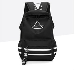 teenage girls tops Promo Codes - Designer Backpack Famous Brand Backpacks for Teenage Girls with Top Double Zipper Men Fashion Travel Book Bags Style Genuine Leather