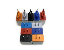 5v 3a ladegerät adapter Rabatt 4 USB-Ladegerät Fast Charge 5V 3A Travel Adapter Tragbares Wall Charger EU / USA für IPhone X 11 Samsung s10 Android Fabrikpreis