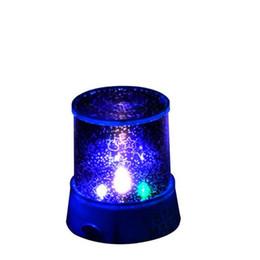 New Lovely Colorful LED Proyector de Luz Nocturna Starry Sky Star moon Master Niños Niños Baby Sleep Romántico colorido Led Lámpara de Proyección USB desde fabricantes