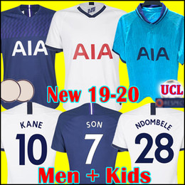 jerseys de espuelas Rebajas Tottenham hotspur spurs soccer jersey football shirt Camiseta de fútbol de Tailandia KANE 2019 2020 LAMELA ERIKSEN DELE SON DIER espolones jerseys 19 20 chandal de fútbol uniformes