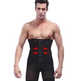 9184181746c07 straps waist shapers Promo Codes - Men Hot Shapers Waist Trainer Cincher  Corset Body Shaper Shapewear