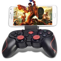 Contrôleurs de jeu T3 Manettes de jeu sans fil Manettes de jeu Bluetooth Télécommande de jeu Bluetooth pour téléphones intelligents Tablettes PC Téléviseurs Ordinateurs Modems ? partir de fabricateur