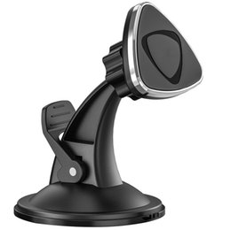 iphone voiture sticky mount Promotion Support de téléphone de voiture de meilleure qualité montage berceau de voiture pare-brise de pare-brise avec tableau de bord pour iPhone Samsung GPS périphériques