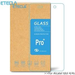 Protezione dello schermo alcatel idol online-2PCS per Alcatel Idol 4 Glass Alcatel Idol 4s schermo in vetro temperato Su Uno tatto Idol4 Protector 6055k 6070k 5.2 5.5 Film