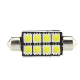 La voiture de 5050 8SMD 39MM a mené la lampe de lecture intérieure de dôme pour remplacer l'éclairage des véhicules à moteur meilleur que les ampoules de tungstène ? partir de fabricateur